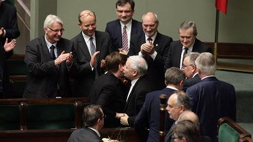Jarosław Kaczyński, Beata Szydło i najważniejsi politycy PiS
