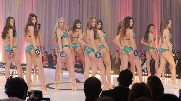 Miss Polonia 2012. Wtedy jeszcze nikomu - ani w Polsce ani w Stanach - nie śniło się, że w USA, czyli kolebce konkursów piękności, kiedyś zabraknie konkurencji w strojach kąpielowych