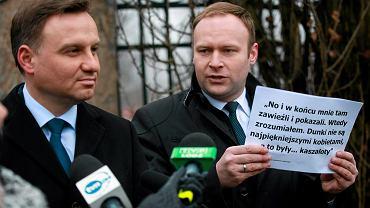 Rzecznik PiS Marcin Mastalerek towarzyszy Andrzejowi Dudzie od samego początku kampanii prezydenckiej.