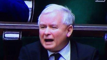 Co krzyczy Jarosław Kaczyński?