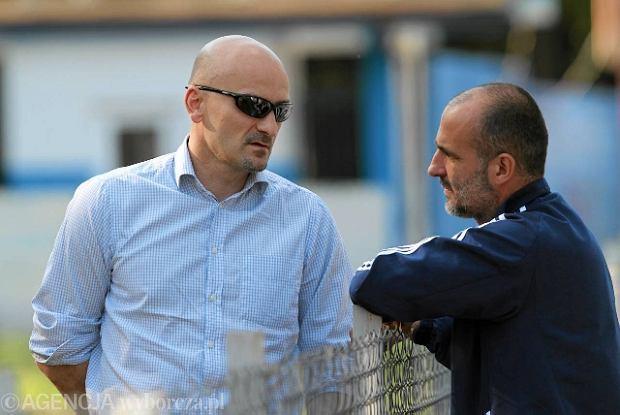 Jacek Bednarz i Michał Probierz