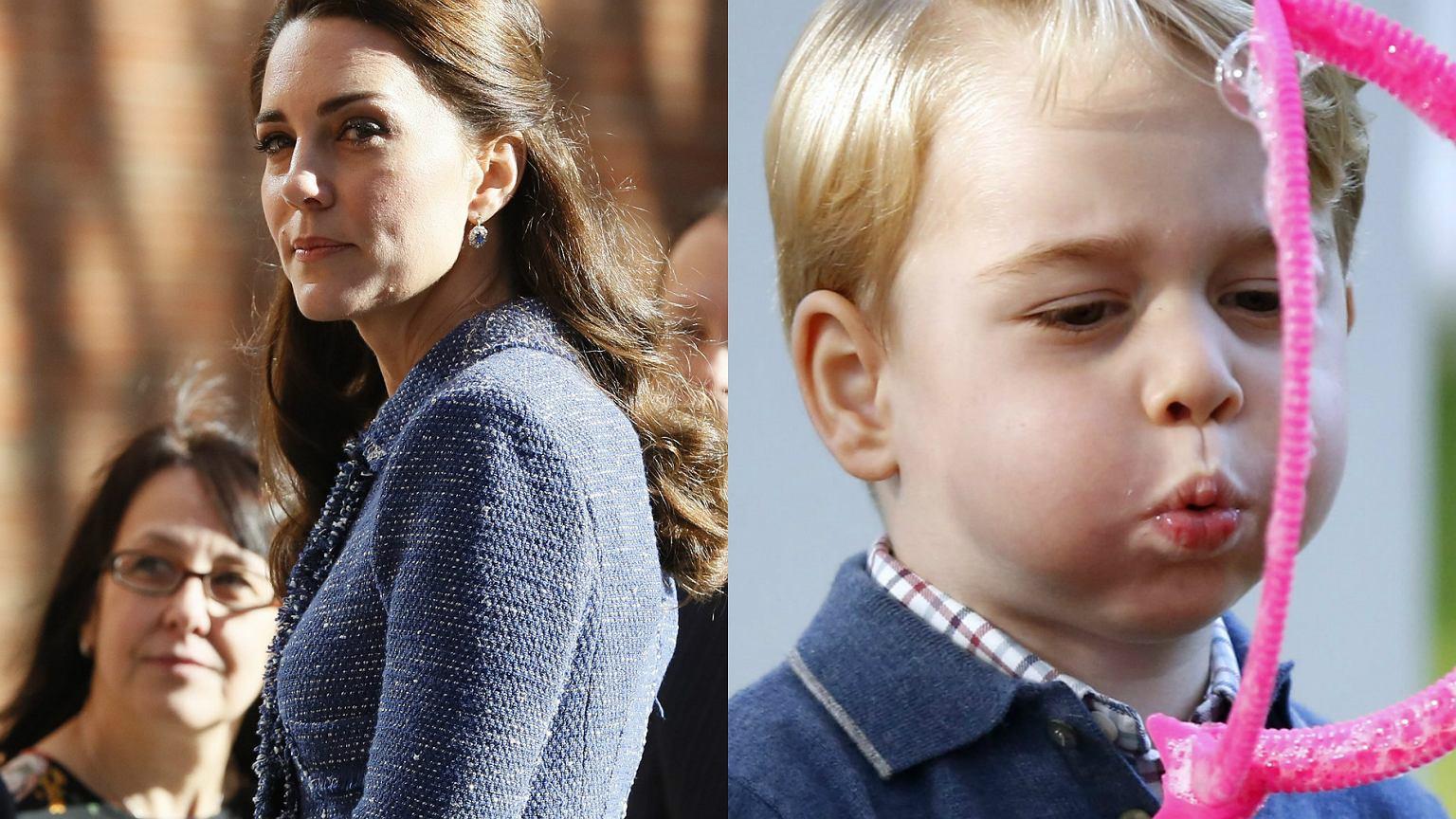Księżna Kate Ma Spos 243 B Na Ataki Złości Księcia George A I