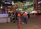 Po wycieku gazu przy Dw. Centralnym otwarto p�tl� i ulic�