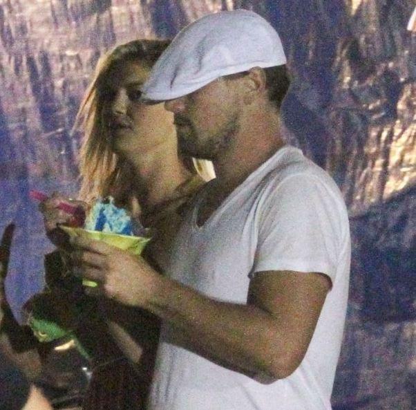 Leonardo DiCaprio i Kelly Rohrbach