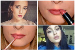 Jak powi�kszy� usta makija�em, by nadal wygl�da�y naturalnie? Kylie Jenner i Jessica Mercedes Kirschner ju� to wiedz�, dowiedz si� i ty [PORADNIK]