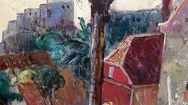 Zakupiony obraz Mariana Strońskiego 'Widok z Dubrownika'
