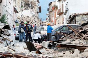 """Silne trzęsienie ziemi we Włoszech. """"Nie ma połowy miasta. Ludzie są pod gruzami"""""""