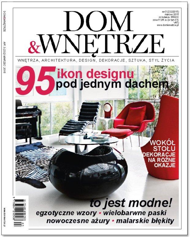 """Marcowy numer magazynu """"Dom&Wnętrze"""" już w kioskach!"""