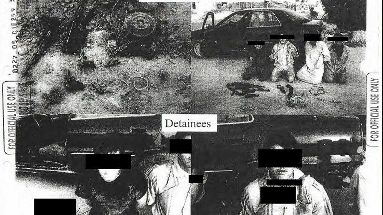 Zdjęcia z więzień w Iraku i Afganistanie opublikowane przez Pentagon