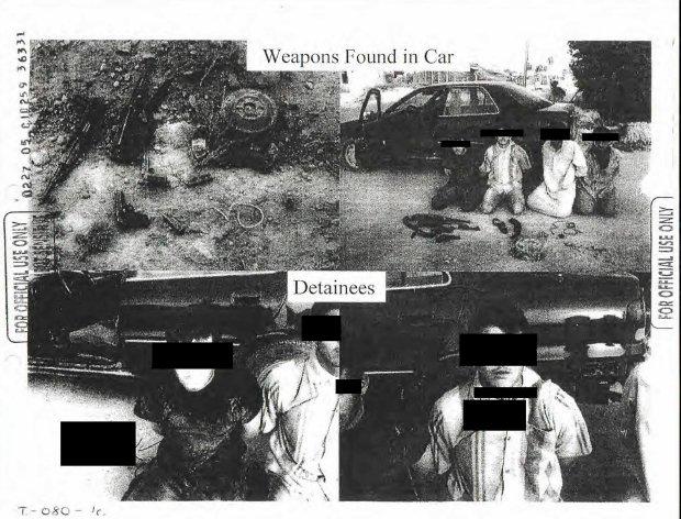 Zdj�cia z wi�zie� w Iraku i Afganistanie opublikowane przez Pentagon