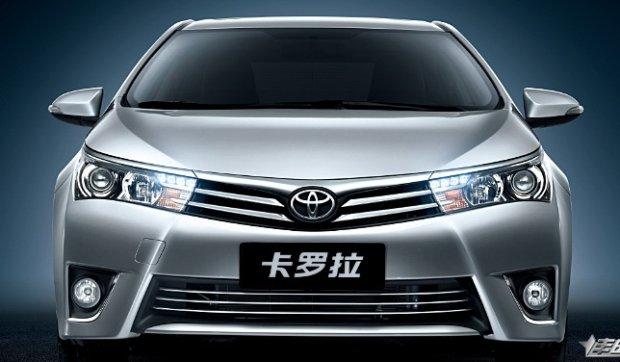 Toyota Corolla Chiny