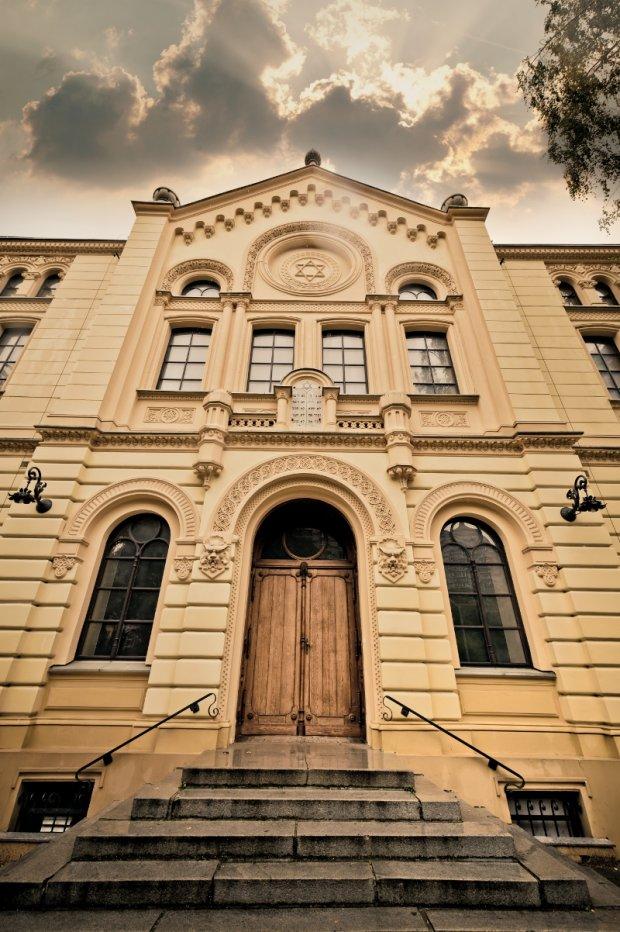 W podziemiach synagogi Nożyków znajduje się mykwa