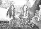 Papusza z harfą, Romowie sprzed półwiecza, Paryż '60... Zobacz zdjęcia z archiwum Jerzego Ficowskiego