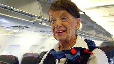 Bette Nash, prawdopodobnie najstarsza stewardessa na świecie