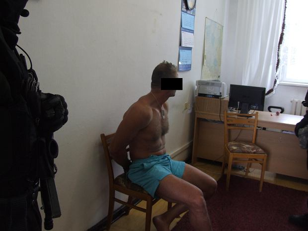 Podejrzany w policyjnym areszcie