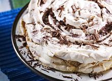 Tort bezowy kawowy - ugotuj