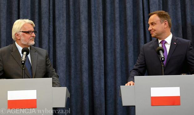 RMF FM: Prezydent Andrzej Duda opóźnia mianowanie ambasadorów. Konflikt z MSZ