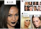 """Nietakt """"Cosmopolitan"""". Wpadki makija�owe ilustruj� zdj�cia ciemnosk�rych kobiet, dobre przyk�ady - zdj�cia bia�ych modelek. Internauci oburzeni"""