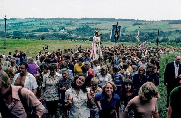 Kalwaria Pacławska 1977 rok (fot. Chris Niedenthal)