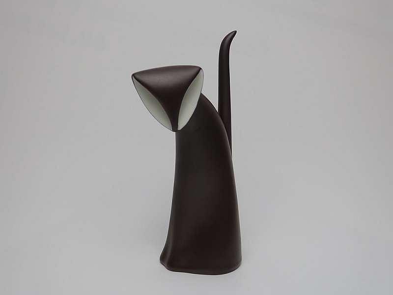 Figurka 'Kocię', proj. Jaroslav Ježek, Karlovarský porcelán - Duchcov, 1962 / Materiały prasowe Domu Spotkań z Historią