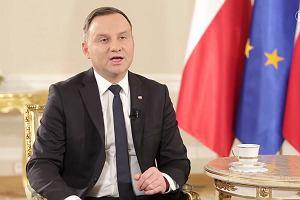Prezydent o ekshumacjach ofiar katastrofy smoleńskiej: Mogę tylko prosić rodziny o wyrozumiałość