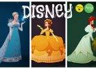 Księżniczki Disneya w strojach z epoki od Claire Humme