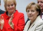 """Merkel deklaruje poparcie dla dzia�alno�ci ziomkostw i dzi�kuje Erice Steinbach. """"Rz�d niemiecki b�dzie nadal sta� po stronie wyp�dzonych"""""""