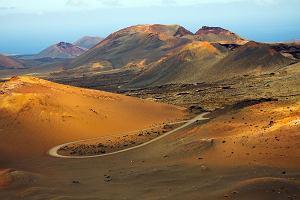 Wyspy Kanaryjskie Lanzarote - wyspa jak z ksi�yca