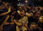 Wielki protest w Hongkongu. P� tysi�ca os�b aresztowanych
