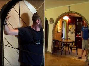 Wróżbita Maciej pokazał Łukaszowi Jakóbiakowi swój ogromny dom. Niespodzianki zaczynają się już na poziomie drzwi: najpierw jest lustro a potem... niespodzianka! A przecież jest jeszcze fantastyczny ogród. A właściwie dwa.
