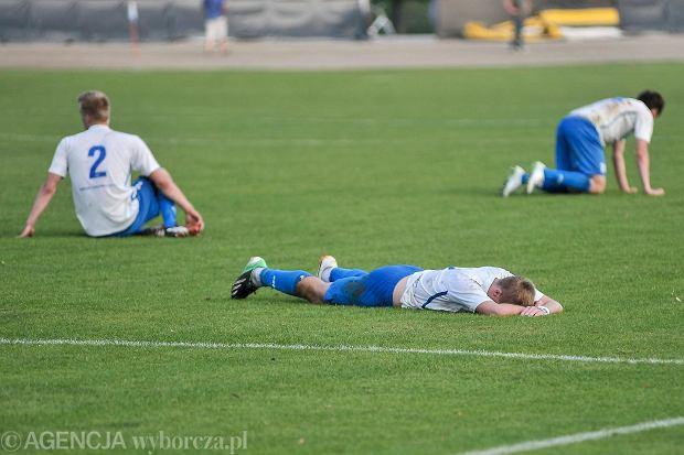 Stal Rzeszów przegrała pierwszy mecz barażowy o II ligę 2:3