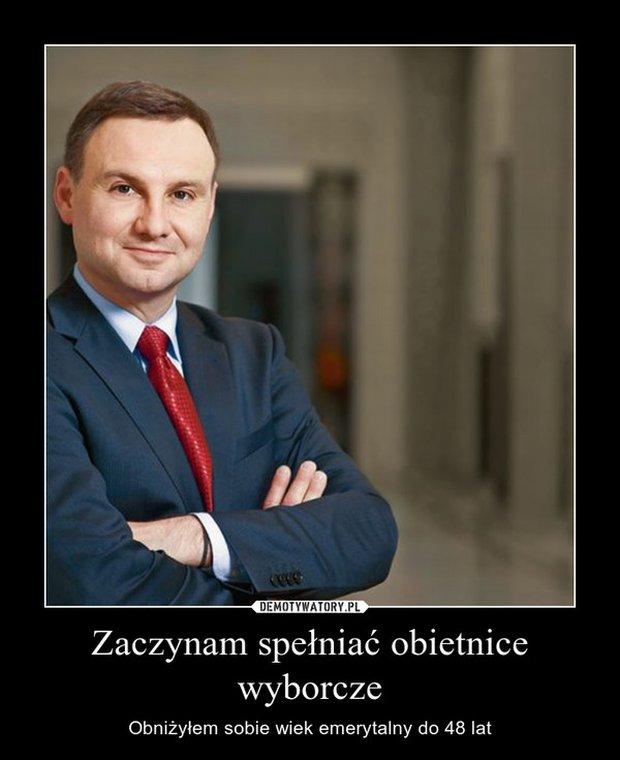 Najlepsze memy po wyborach. Andrzej Duda będzie ...