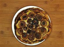 Odwrócona, najprostsza na świecie tarta cebulowa - ugotuj
