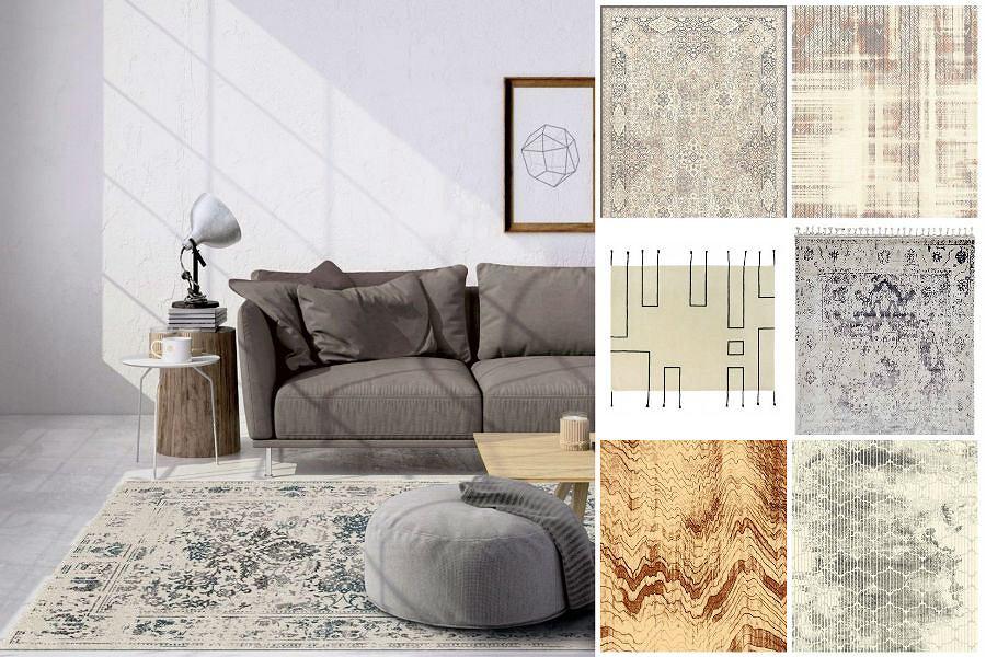Przegląd dywanów w stylu vintage