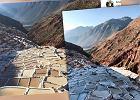 """Nic tutaj nie rośnie, ale kiedy zaświeci słońce, góry """"ożywają"""". Peruwiański cud natury"""