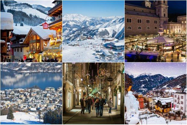 Narty, snowboard, bieg�wki i... termy w Austrii. Najlepsze o�rodki narciarskie blisko przepi�knego Salzburga