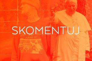 Jan Paweł II na deskorolkach i koszulkach. Czy firmy powinny wykorzystywać wizerunek papieża?