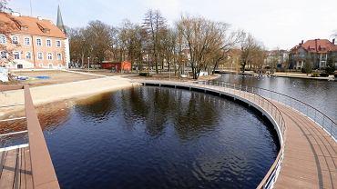 Nowy dwupoziomowy pomost w Szczecinku
