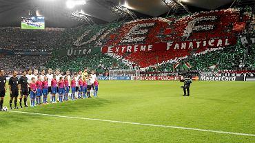 Oprawa na meczu Legia - Steaua