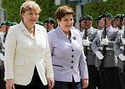 Skromna odwil� z Niemcami