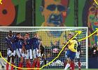 W A-klasie te� strzelaj� jak Roberto Carlos. Pi�kny gol z wolnego w 95. minucie da� awans!