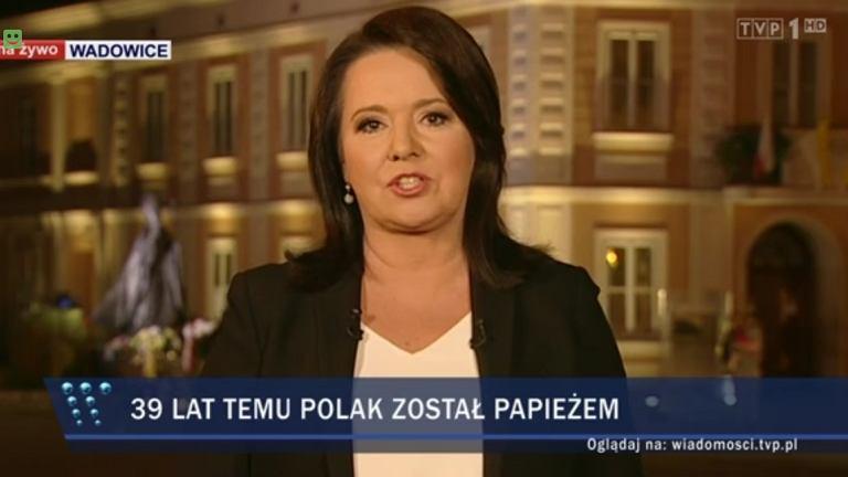 'Wiadomości' TVP z Wadowic