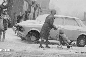 Zobacz zimę w polskich miastach na starych fotografiach