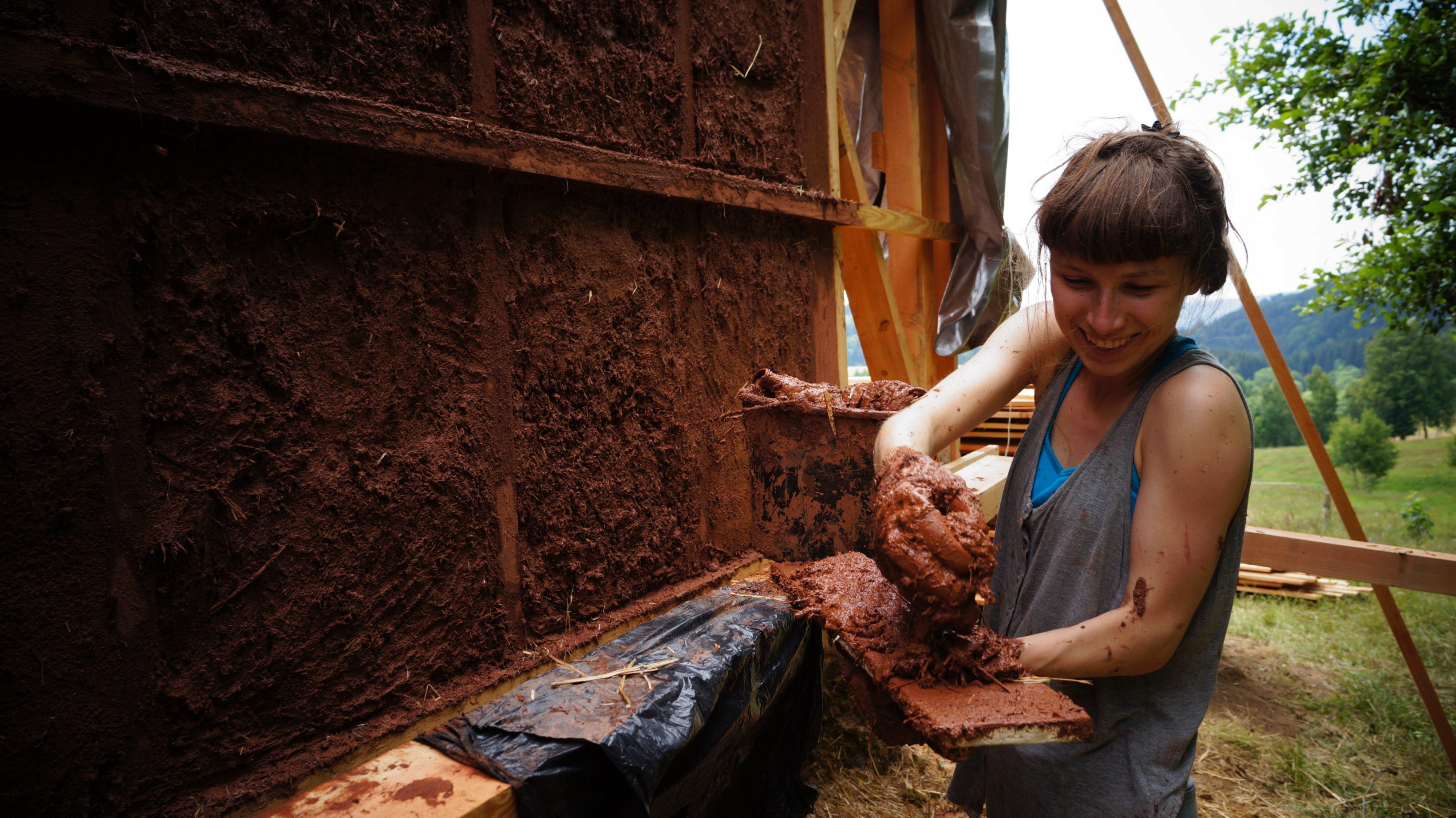 Tylko glinę trzeba było sprowadzić, pozostałe materiały to surowce lokalne (fot. materiały prasowe)