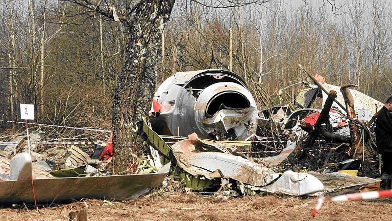 Smoleńsk, miejsce katastrofy TU 154