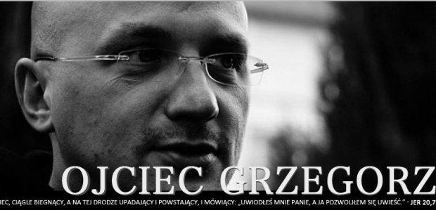 Strona o. Grzegorza Kramera