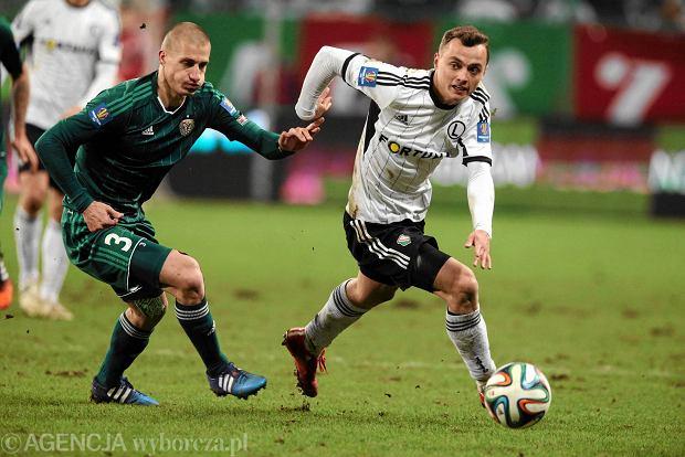 Legia lepsza od �l�ska w �wier�finale Pucharu Polski