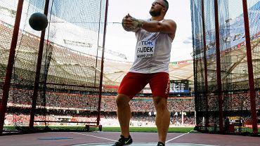 Paweł Fajdek wygrał eliminacje rzutu młotem podczas mistrzostw świata w Pekinie