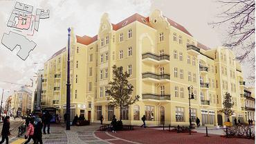 Kamienica na rogu Podgórnej i Wrocławskiej