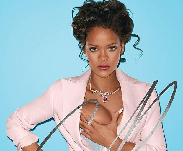 Rihanna w kontrowersyjnej sesji